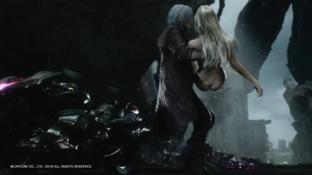 Devil May Cry 5 | Trish Scene,1.07 Patch Applied