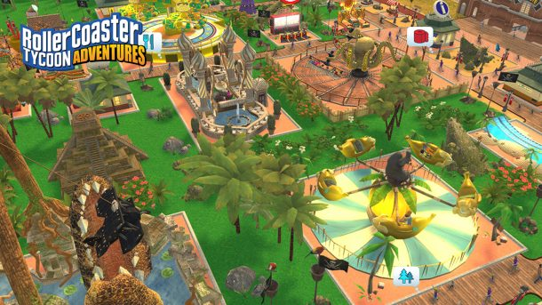 RollerCoaster Tycoon Adventures | Scenery