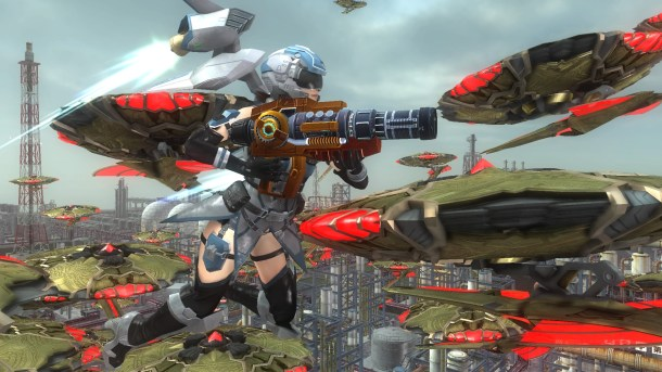 Earth Defense Force 5 | Wing Diver