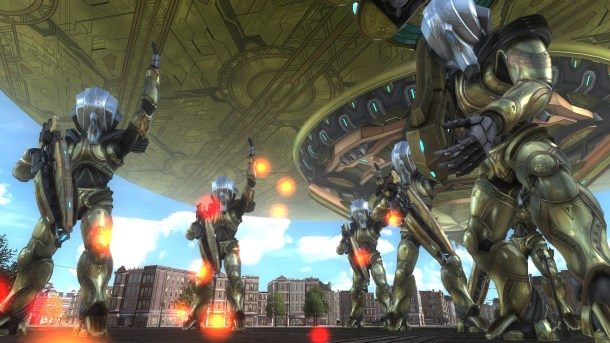 Earth Defense Force 5 | Cosmonauts