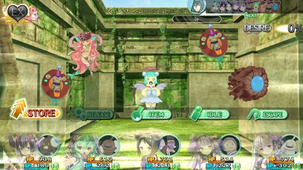 Moero Chronicle Hyper   More Battle