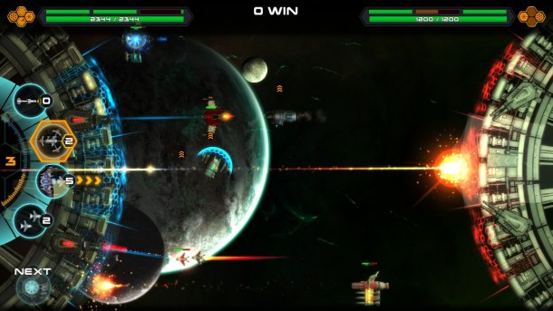 Space War Arena | Battling