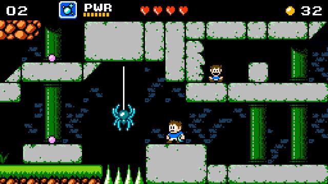 Venture Kid | Spider Jump