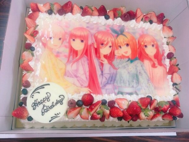 The Quintessential Quintuplets | Birthday Cake