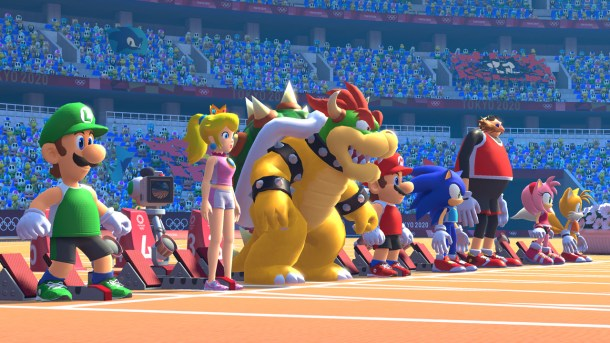 Mario & Sonic At The Olympic Games: Tokyo 2020   Track