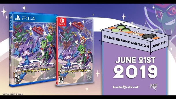Freedom Planet   Limited Run