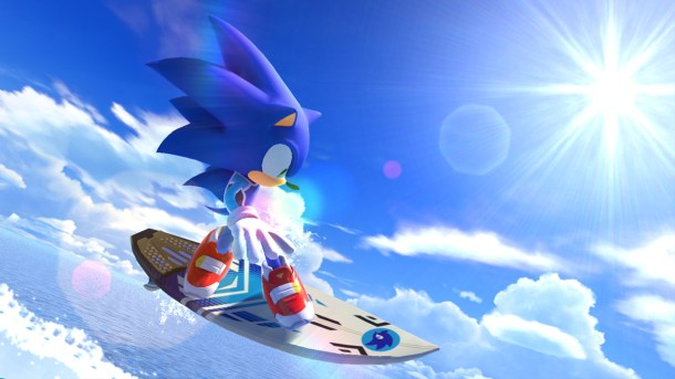 Mario & Sonic At The Olympic Games: Tokyo 2020   Sonic Surfing