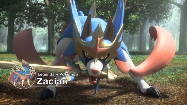 Pokémon Sword and Pokémon Shield | Zacian