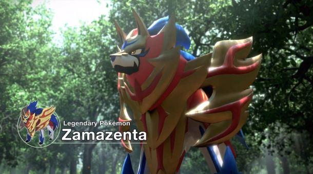 Pokémon Sword and Pokémon Shield | Zamazenta