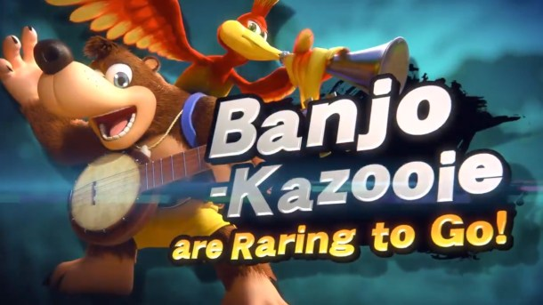 Super Smash Bors Ultimate | Banjo and Kazooie intro