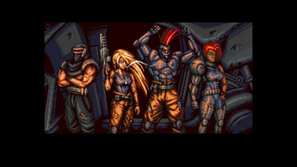 Blazing Chrome | End