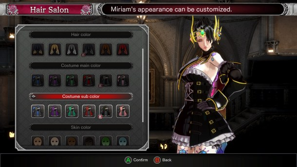 Bloodstained Ritual Style