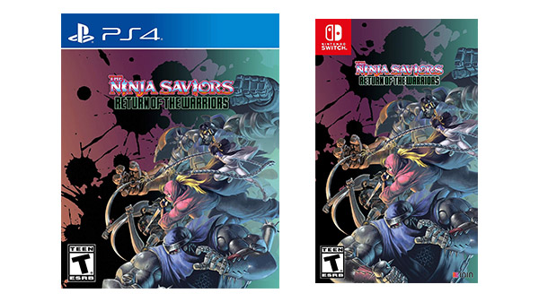 The Ninja Saviors | Box art