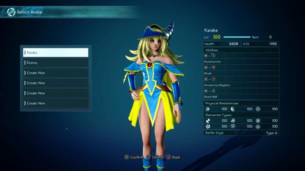 Jump Force | Dark Magician Girl Avatar