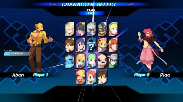 Blade Strangers | New Character Select