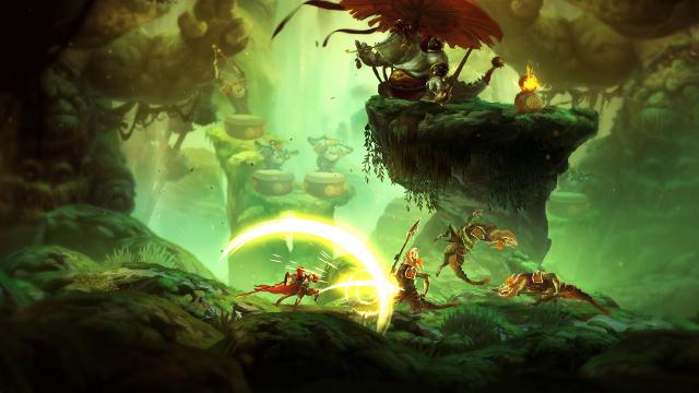 Unruly Heroes | Lizard Combat