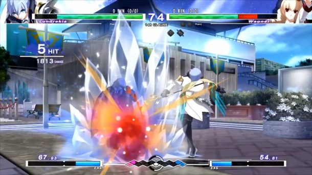 Under Night In-Birth Exe:Late[cl-r]   Londrekia vs Wagner