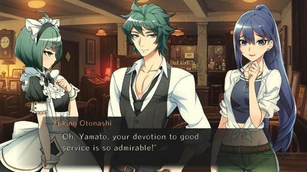 World End Syndrome | Yukino flirting
