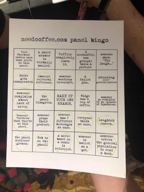 Dragon Con | Bingo