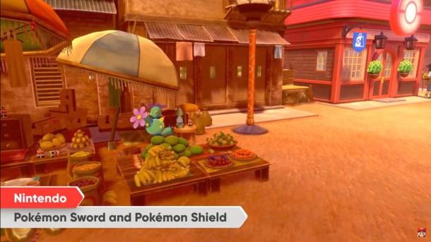 Pokemon Sword and Shield   Maractus Market