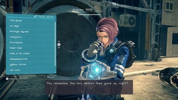 Astral Chain | Case summary