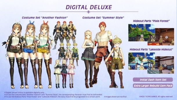 Atelier Ryza | Digital Deluxe Bonuses