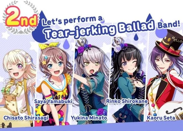 BanG Dream! Girls Band Party! | Tear-Jerking Ballad