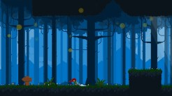 mable and the wood dragging_sword_through_forest
