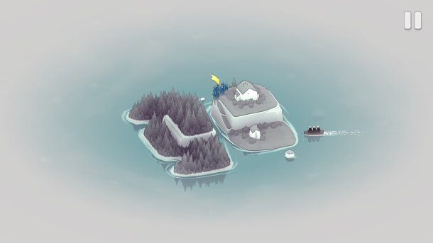 Bad North | Gameplay screen 1