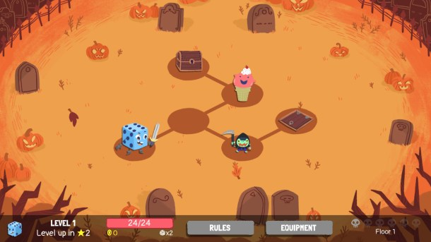 Dicey Dungeons | Halloween Map