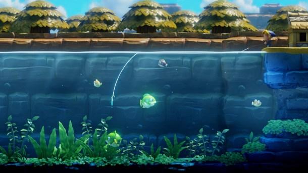 Link's Awakening   Fishing