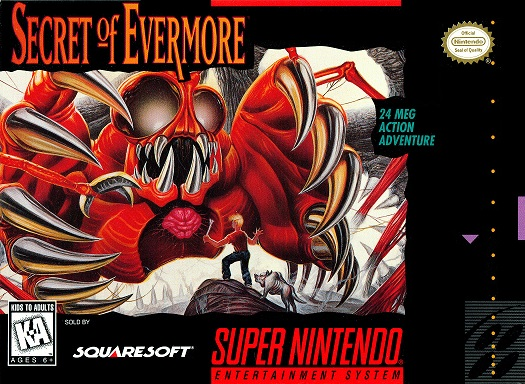 Secret of Evermore | boxart