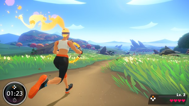 Ring Fit Adventure   Running