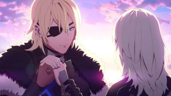 FE3H | Dimitri Holding Byleth's Hand