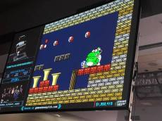 TAS runs ('tool assisted speedruns') are a type of speedrun where people put together a computer-programmed version of a speedrun on standard, unmodified video game equipment that can do tricks that are impossible for a human. These TAS runs, with TASBot and his keeper dwangoAC, have been both a staple and a highlight of Games Done Quick for years. (Images taken by me).