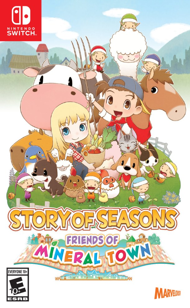 STORY OF SEASONS: Friends of Mineral Town | Box Art