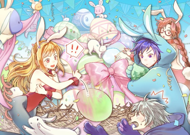 Grand Fantasia Easter