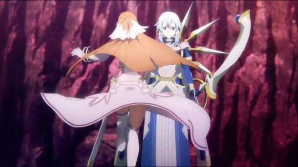 Sword Art Online: Alicization -War of Underworld | Sinon and Asuna