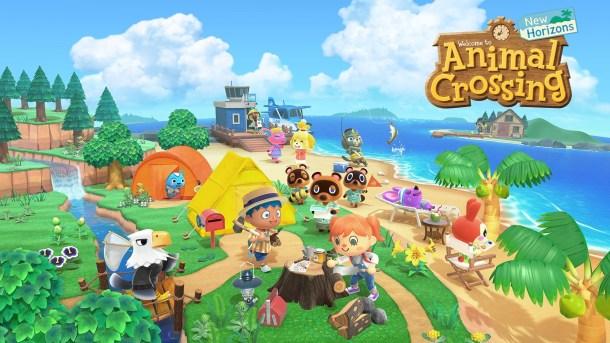 Animal Crossing New Horizons | Logo Featured