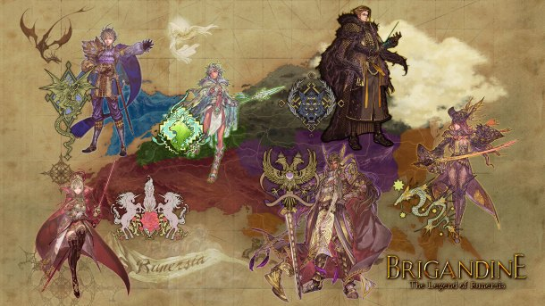 Brigandine | Map Art