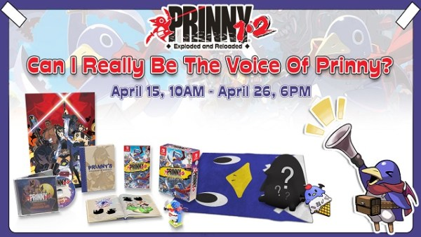 Prinny® 1•2: Exploded and Reloaded | Can I be the voice of Prinny contest