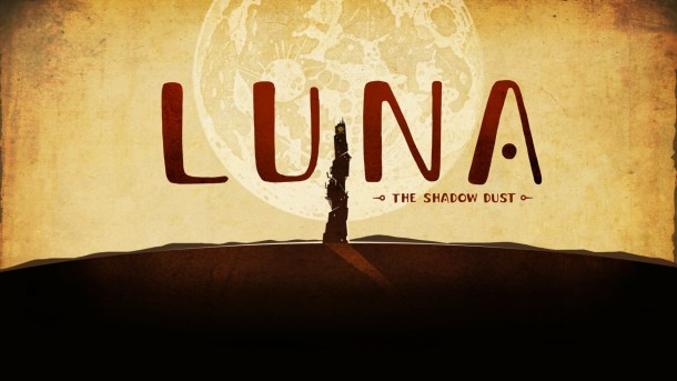 LUNA The Shadow Dust | title
