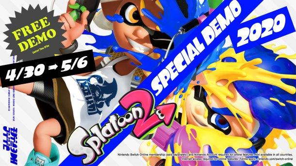 Nintendo Download   Splatoon 2 demo