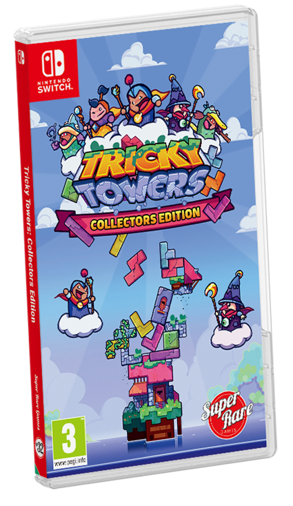 Tricky Towers: Collector's Edition | Box art