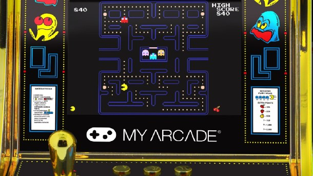 PAC-MAN Micro Player
