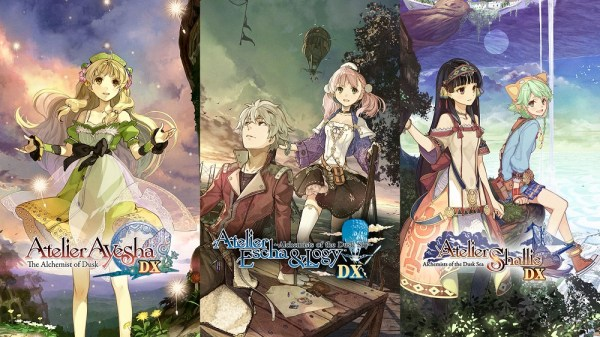 Atelier Dusk Trilogy | Each Game's Logo Art