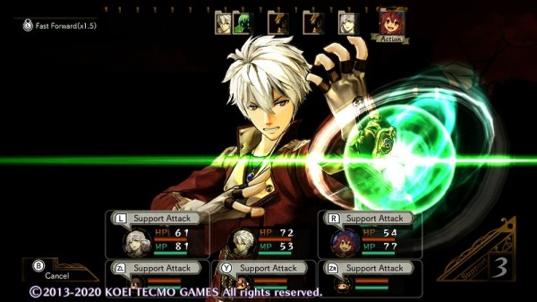Atelier Escha & Logy Dx | Logy getting ready to attack