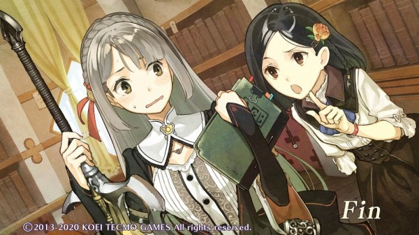 Atelier Escha & Logy Dx | Marion and Linca working