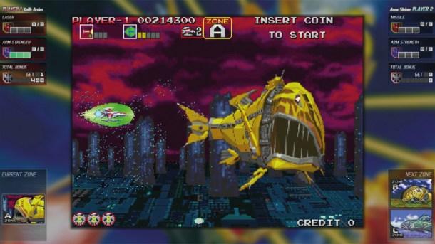 Nintendo Download | Darius Cozmic Collection Arcade