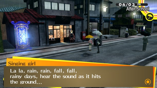 Persona 4 Golden | Rainy Song